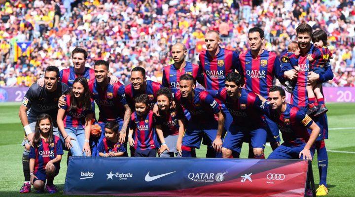 گالری عکس تیم بارسلونا