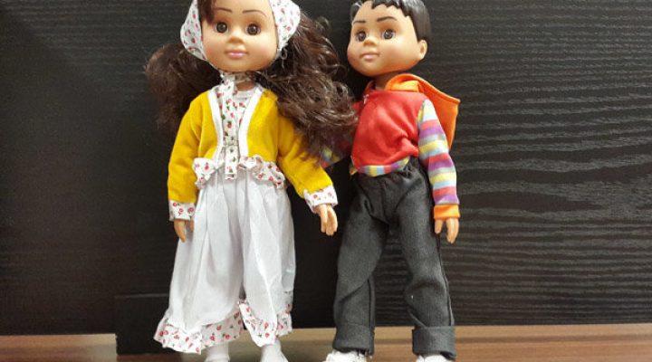گالری عکس عروسک دارا و سارا