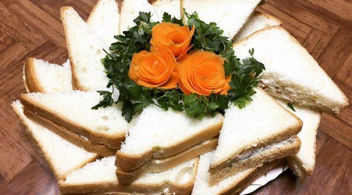گالری عکس سرو الویه با نان تست