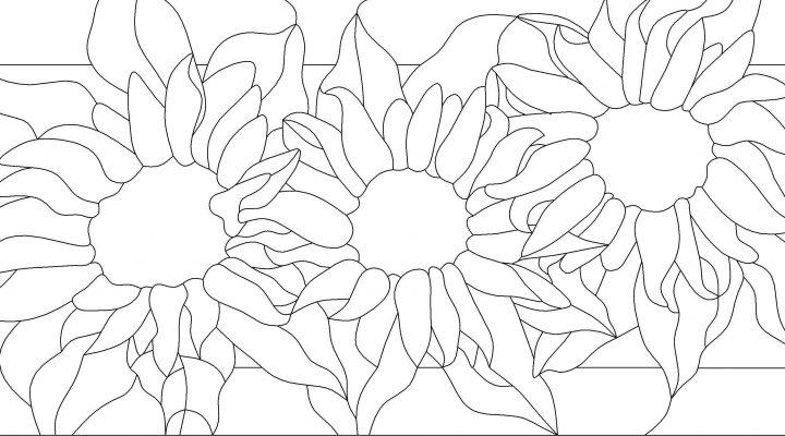 گالری عکس طرح خام گل