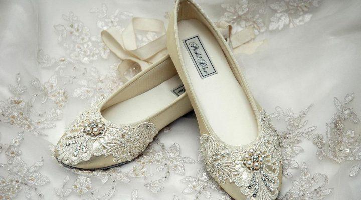 گالری عکس کفش عروس فلت