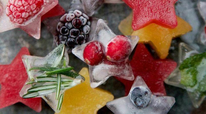 گالری عکس قالبهای یخ تزیینی