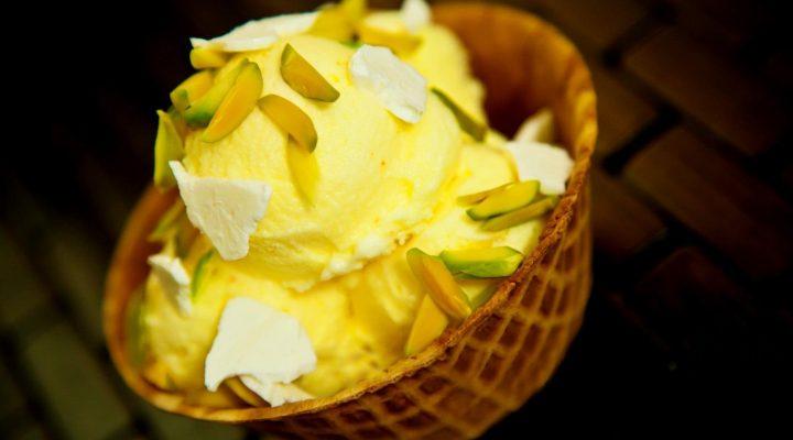 گالری عکس بستنی زعفرانی