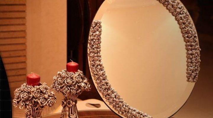 گالری عکس آینه شمعدان