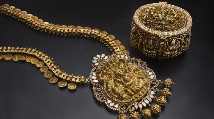 گالری عکس گردنبد و سرویس طلا و جواهر
