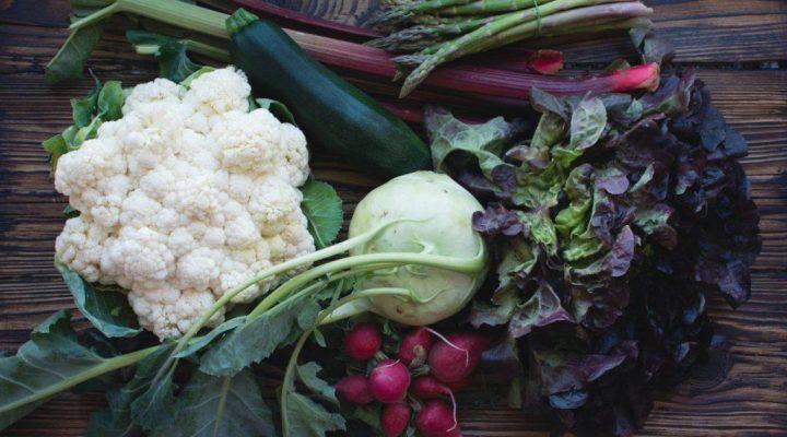 گالری عکس سبزیجات تازه