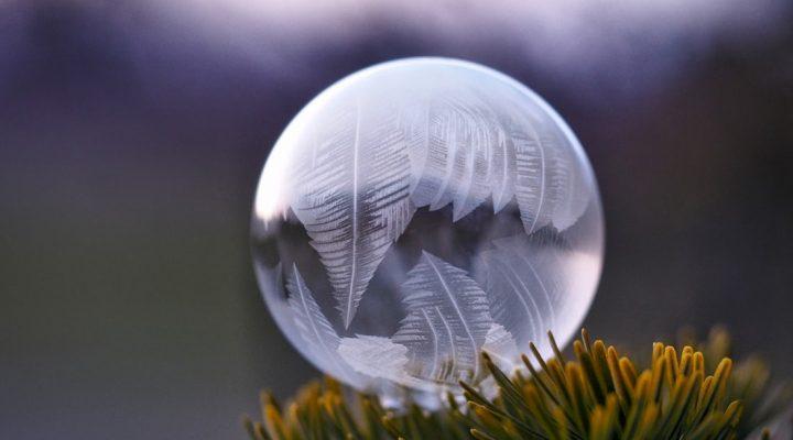 گالری عکس حباب های یخی